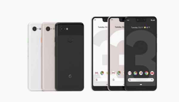"""就一个字""""贵""""! 谷歌发布智能手机Pixel 3和Pixel 3 XL"""