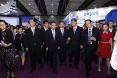 众信中心亮相第十六届中博会跨境电商