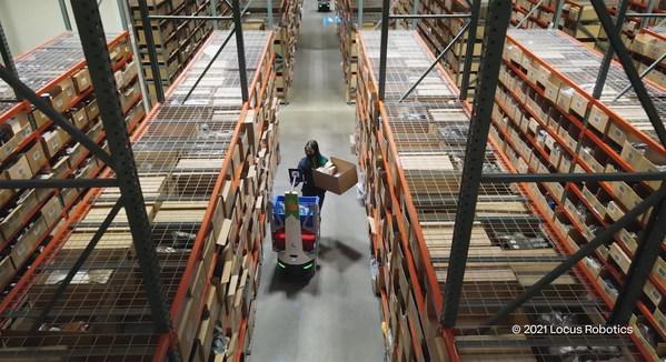 柯尔柏与Locus Robotics为Evo提供解决方案 共推电商业务高成长